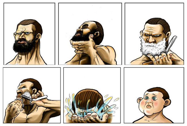 bearded-men-shave
